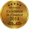 Mortgage Corp Awards - melbourne mortgage broker Excellent in Finance award 2014